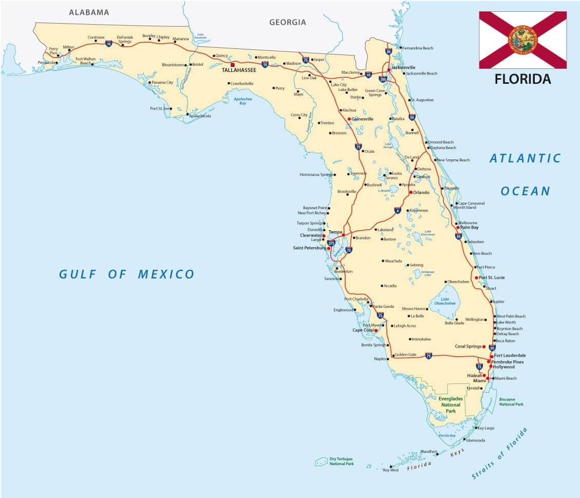 Florida Map - Florida map