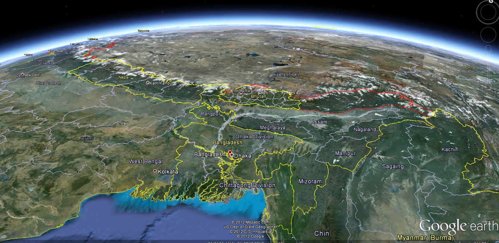 Bangladesh map bangladesh bangladesh earth map gumiabroncs Choice Image