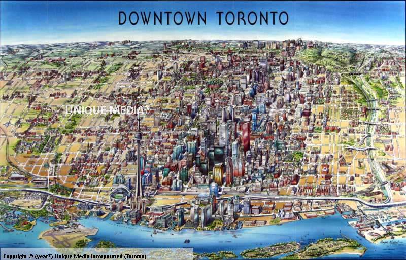 Toronto Map on