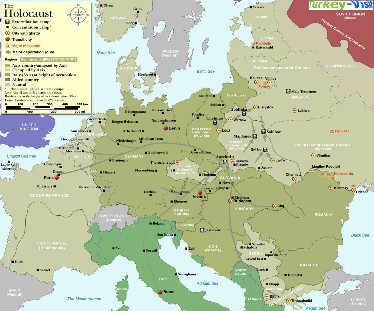 Europe Map 1940