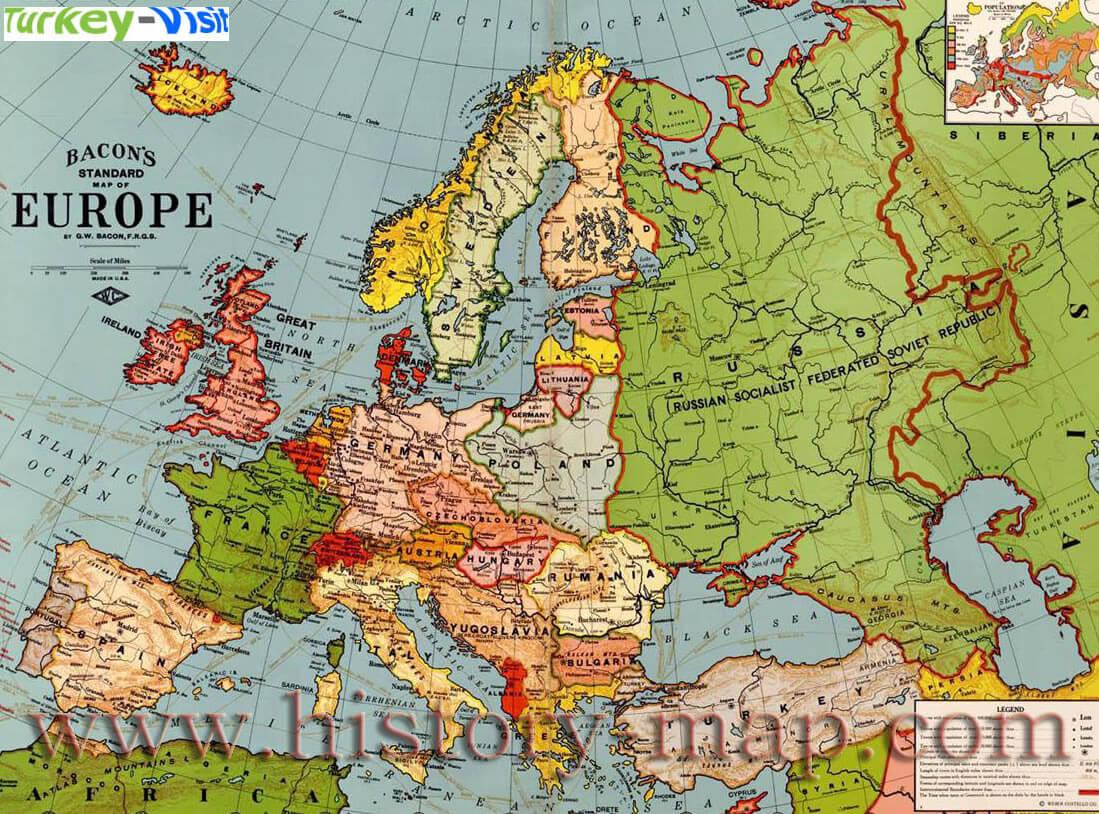 Europe Map - Europe map 1871 1914