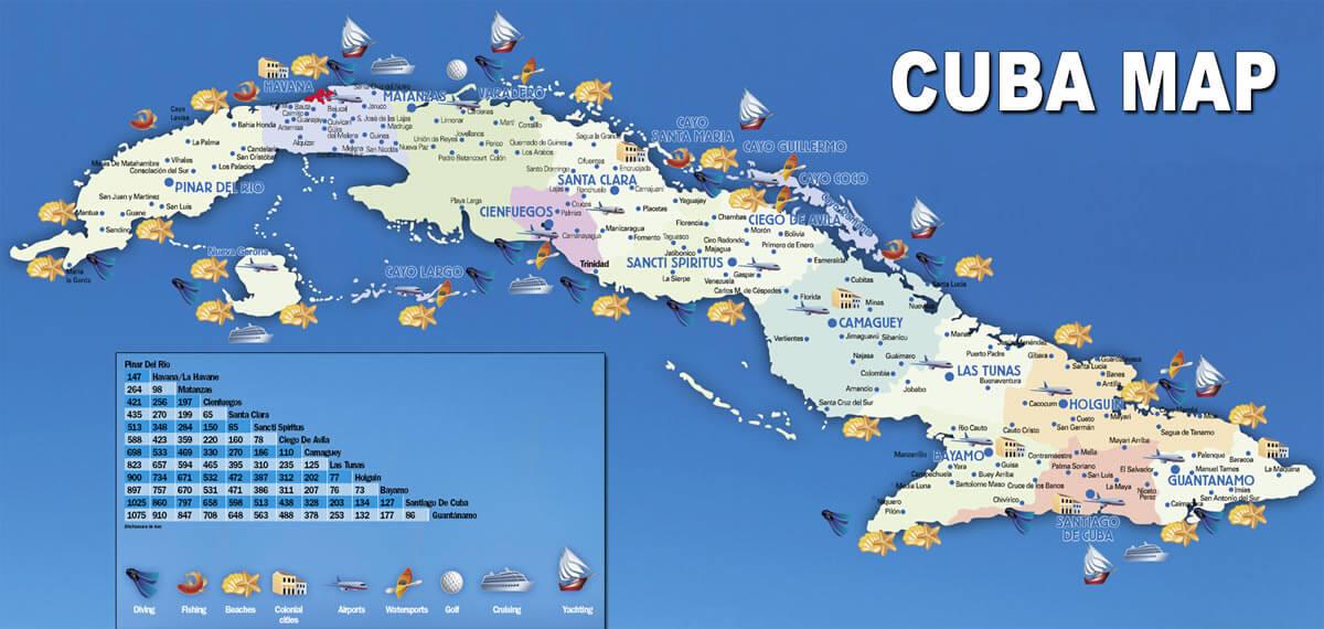 Cuba Map - Map of cuba