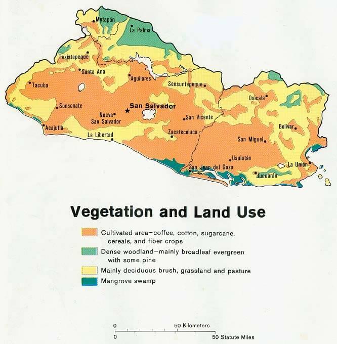 Satellite Image Photo Of El Salvador - Satellite image photo of el salvador
