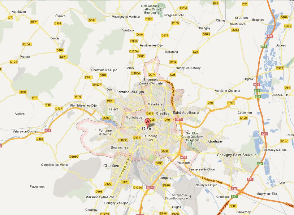 Dijon Map