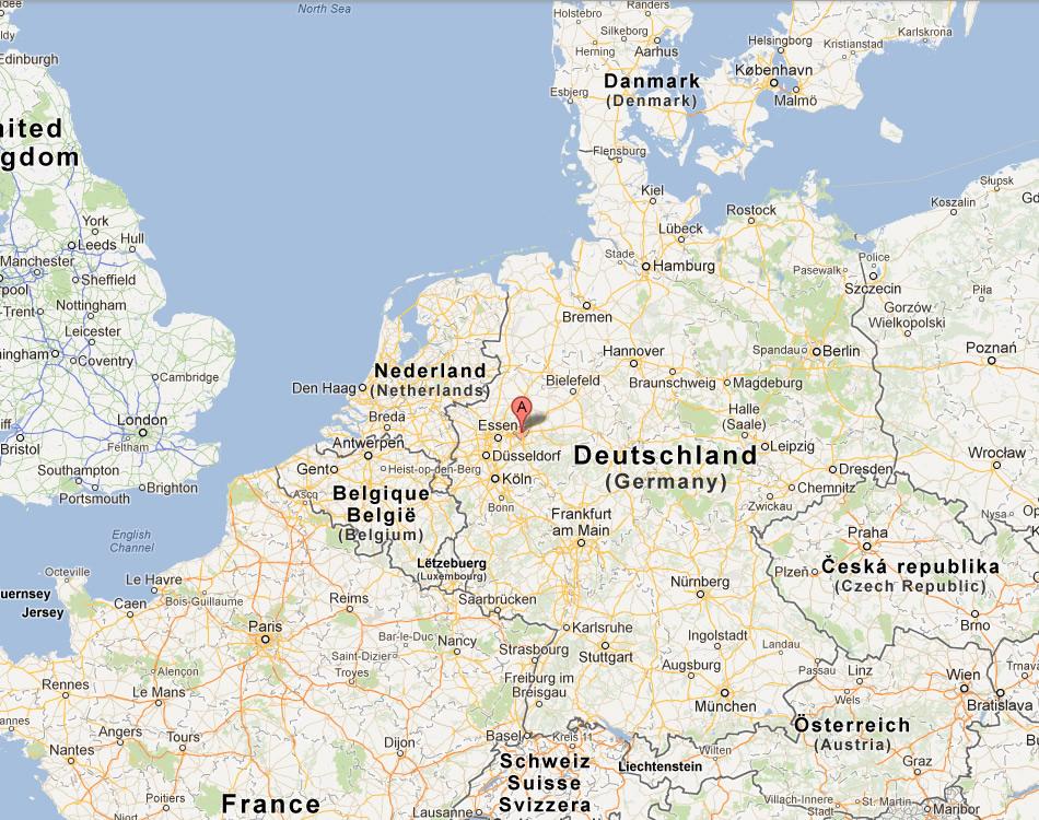 map of dortmund germany