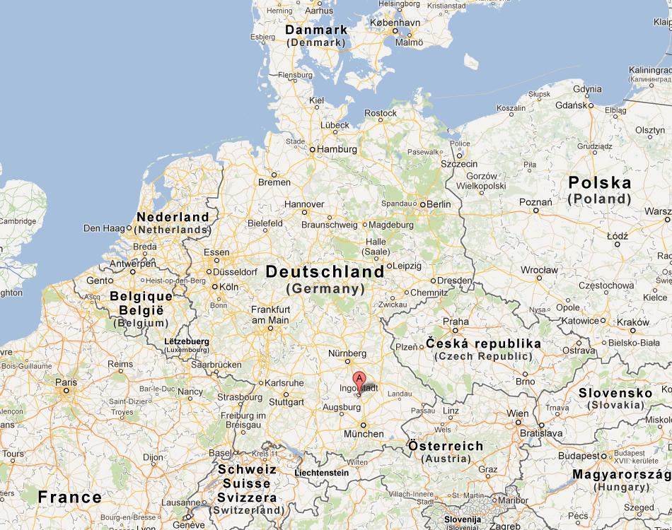 Ingolstadt Map