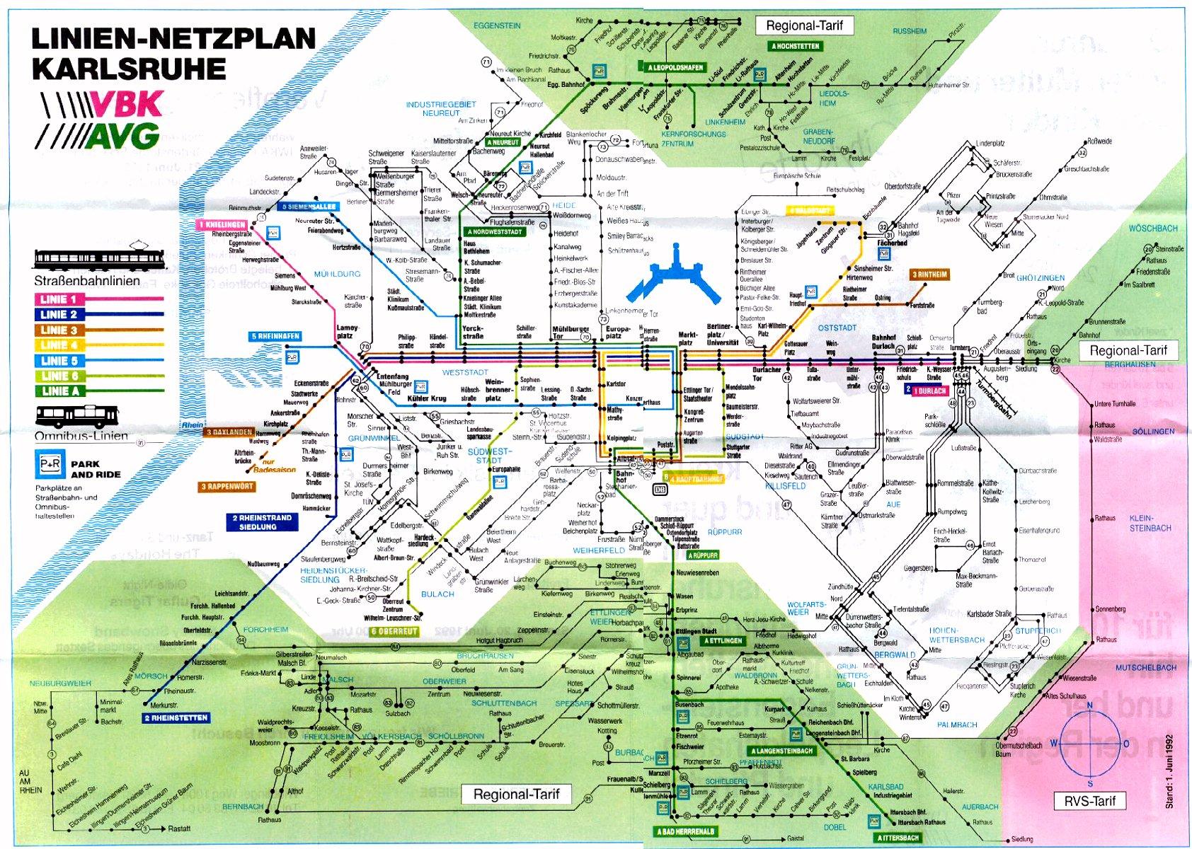 Karlsruhe Map