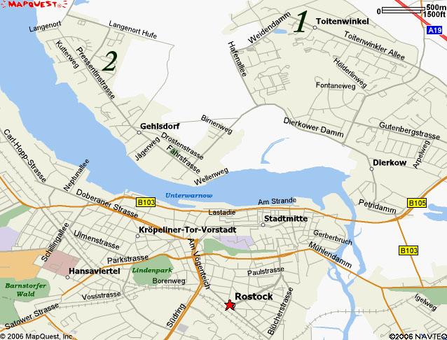Rostock Map