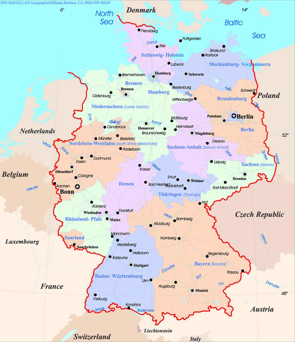 Ulm Map – Ulm Germany Map