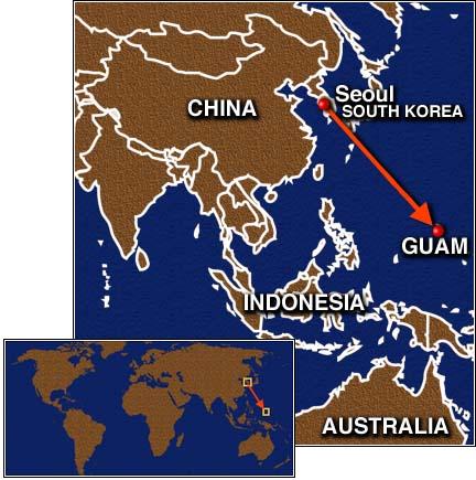 Guam On Map Of World.Guam Map