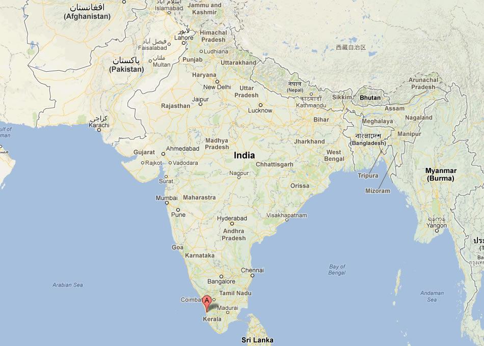 cochin map
