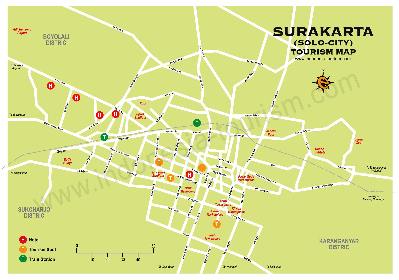 Surakarta Map Google