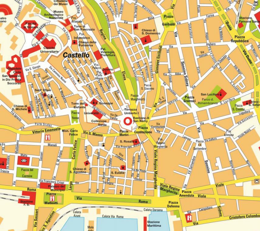recensioni evasioni cagliari map - photo#22