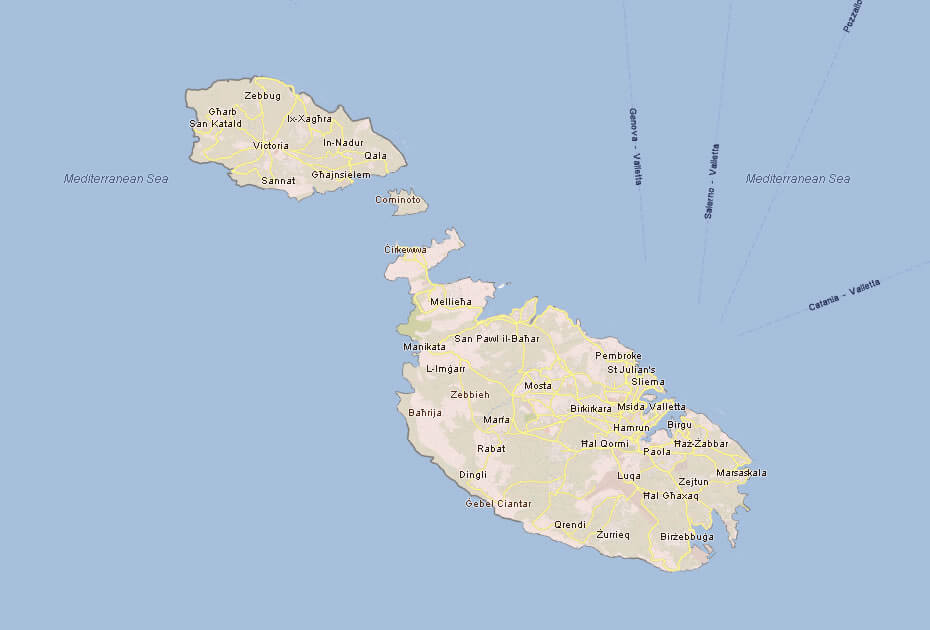 Blushempo Google Map Malta