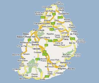 Mauritius Map - Mauritius map