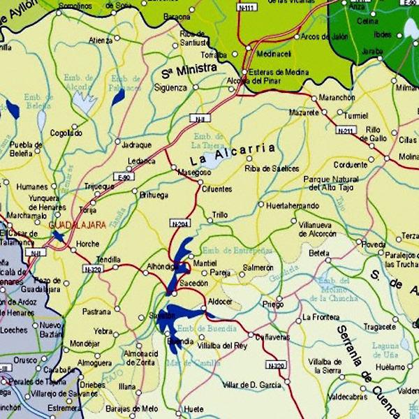 map guadalajara map of guadalajara mexico