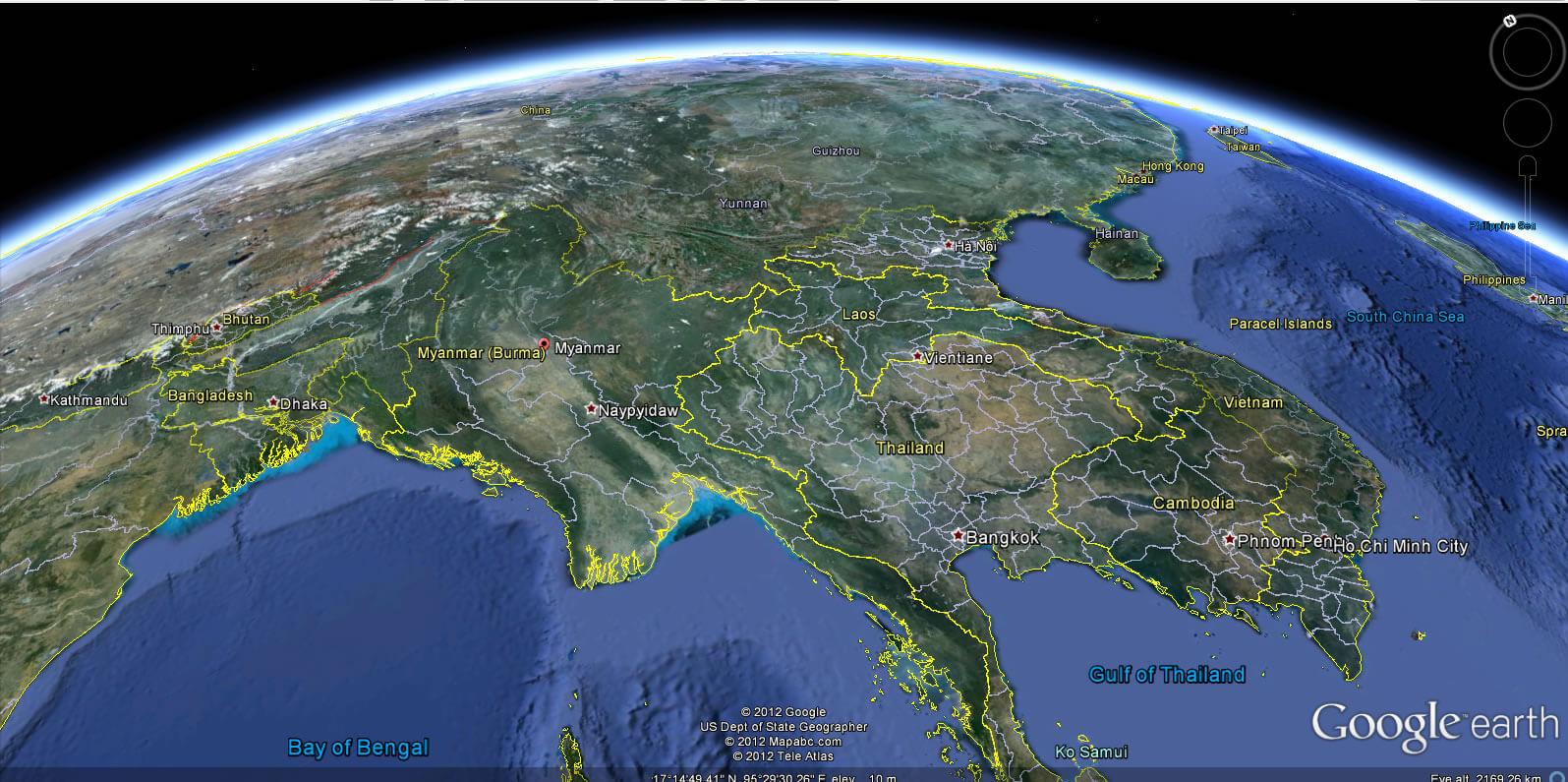 Myanmar map myanmar myanmar earth map gumiabroncs Images