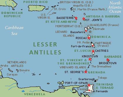 Netherlands Antilles Aruba Political Map - Netherlands antilles aruba political map