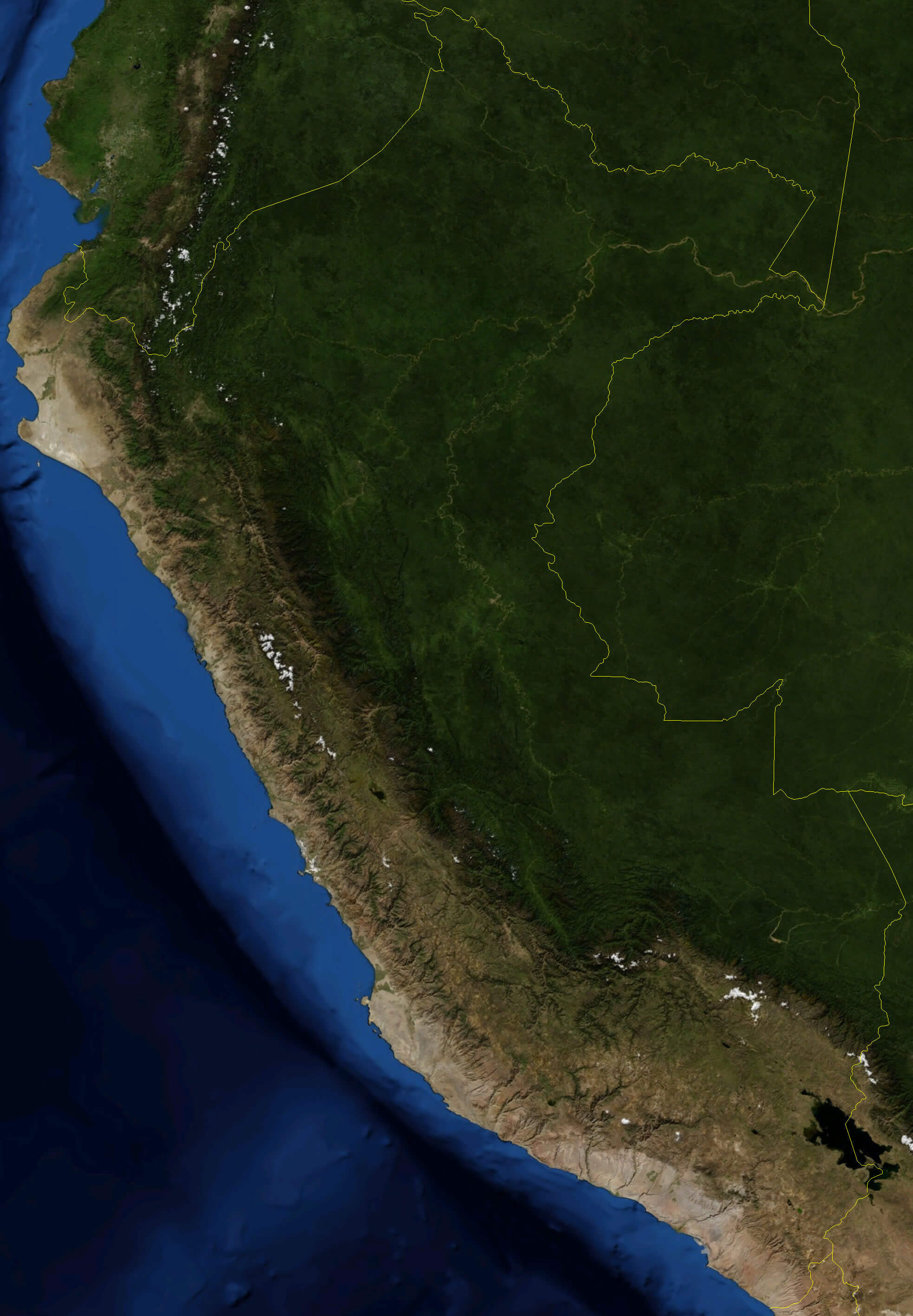 Cities Map Of Peru