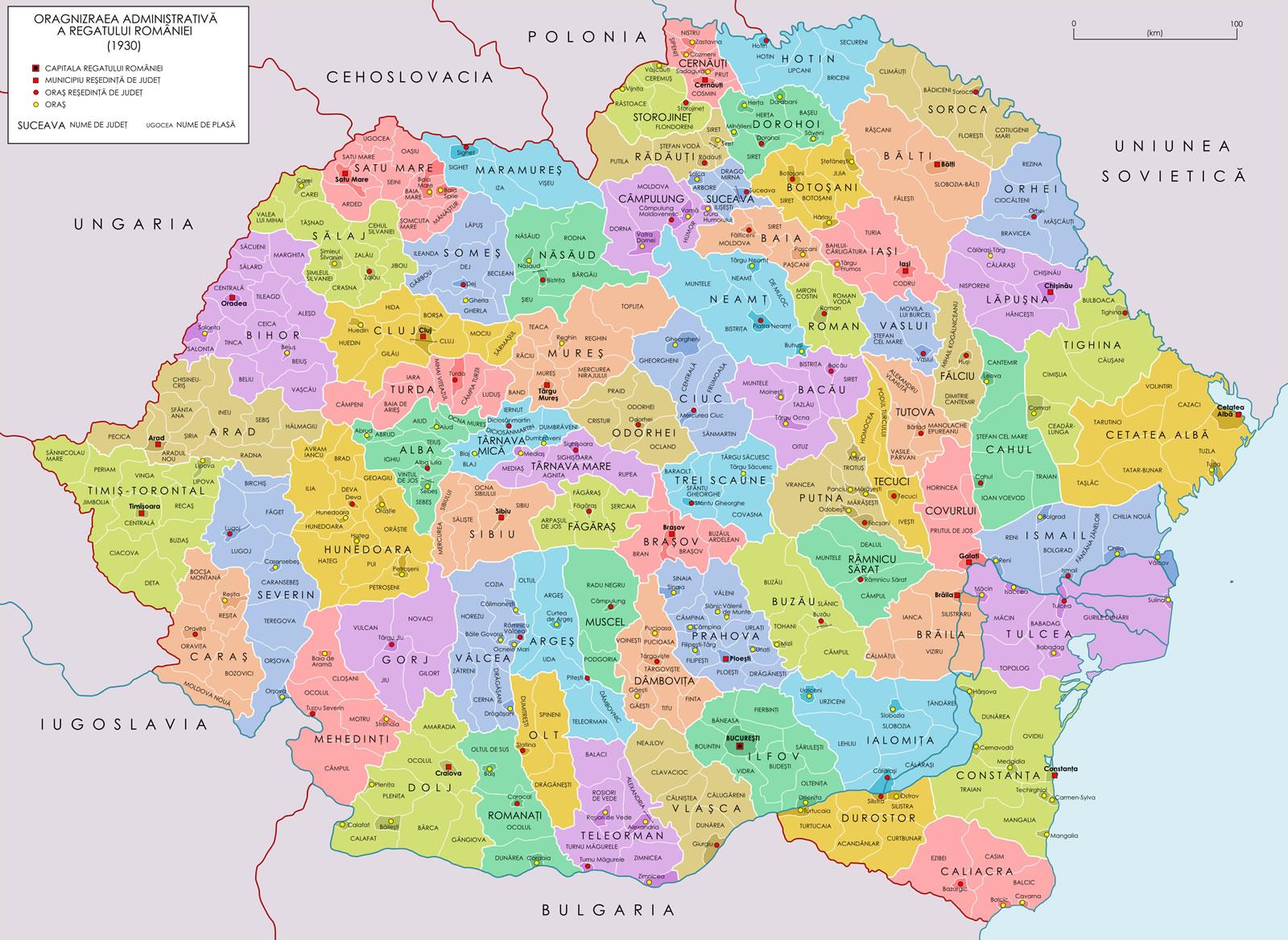 Craiova Map