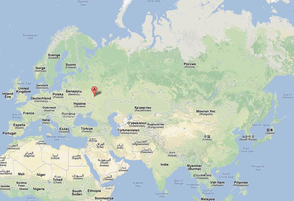 Lipetsk Map
