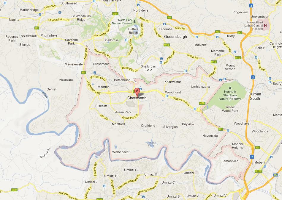 Chatsworth Map
