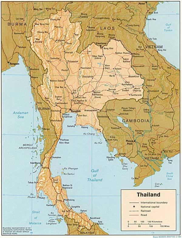 Khon Kaen Map