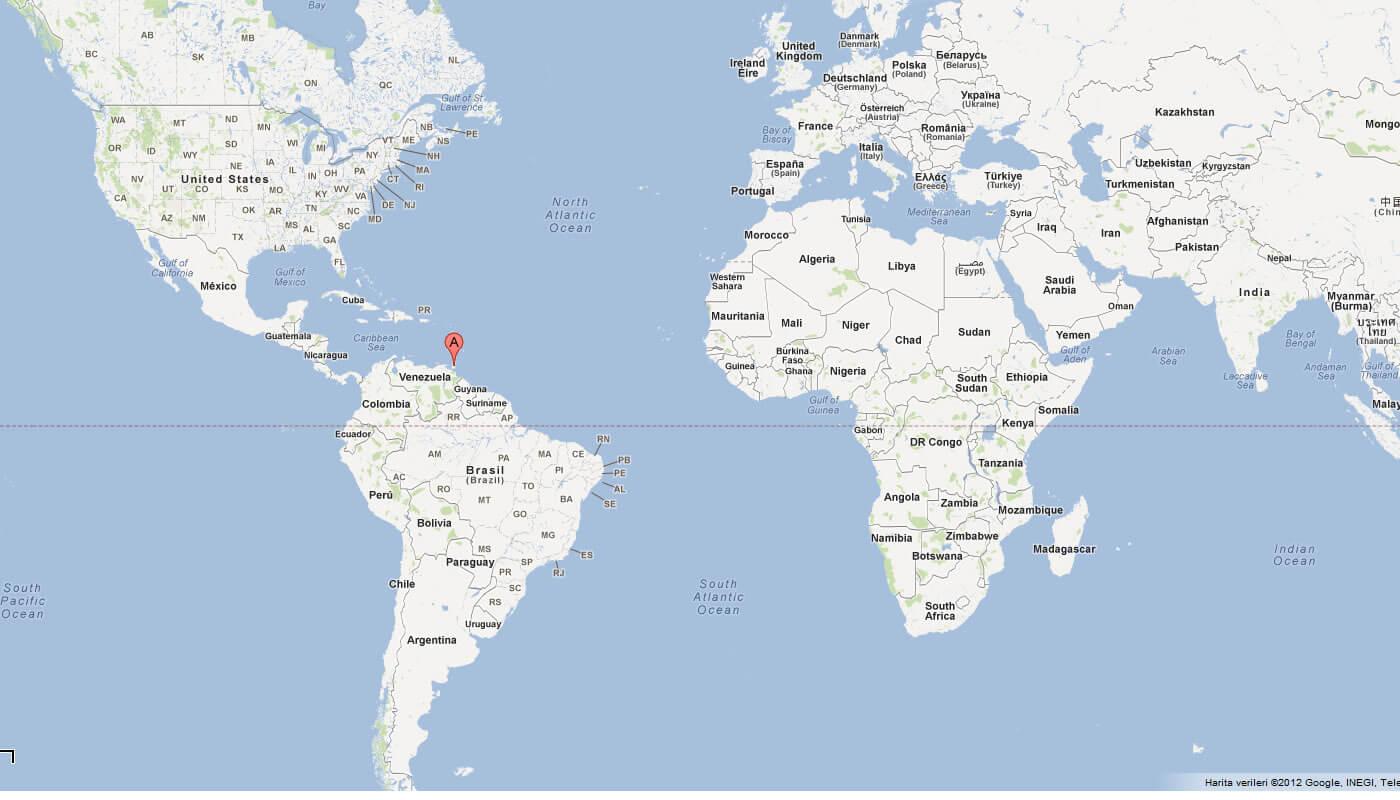Trinidad And Tobago World Map Factsofbelgium