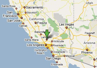 Lancaster California Map Lancaster California Map | Earth Map