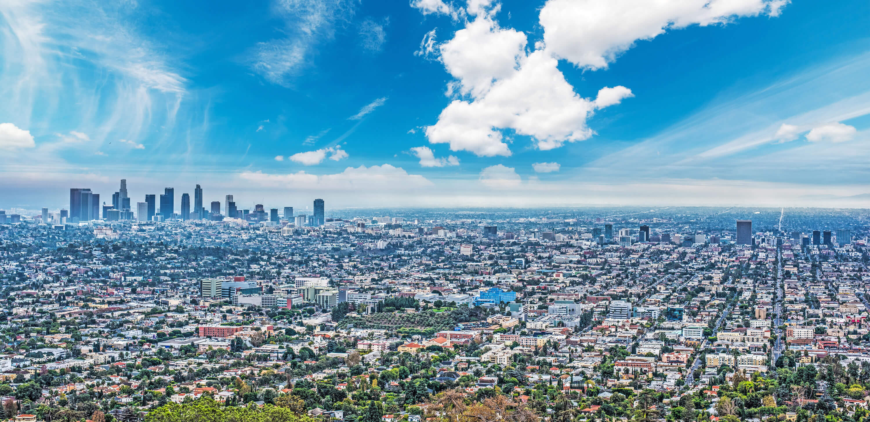Los Angeles California Map - Los angeles california map united states