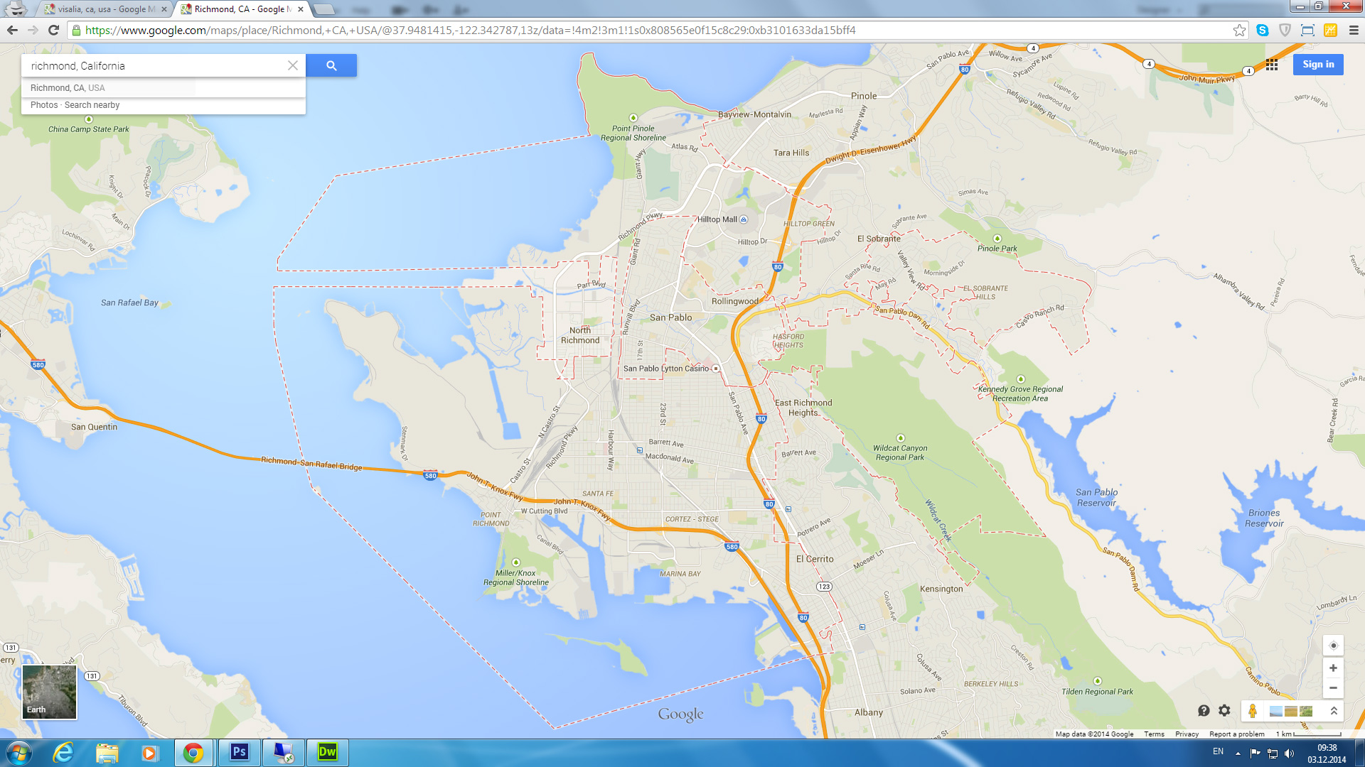 Richmond California Map
