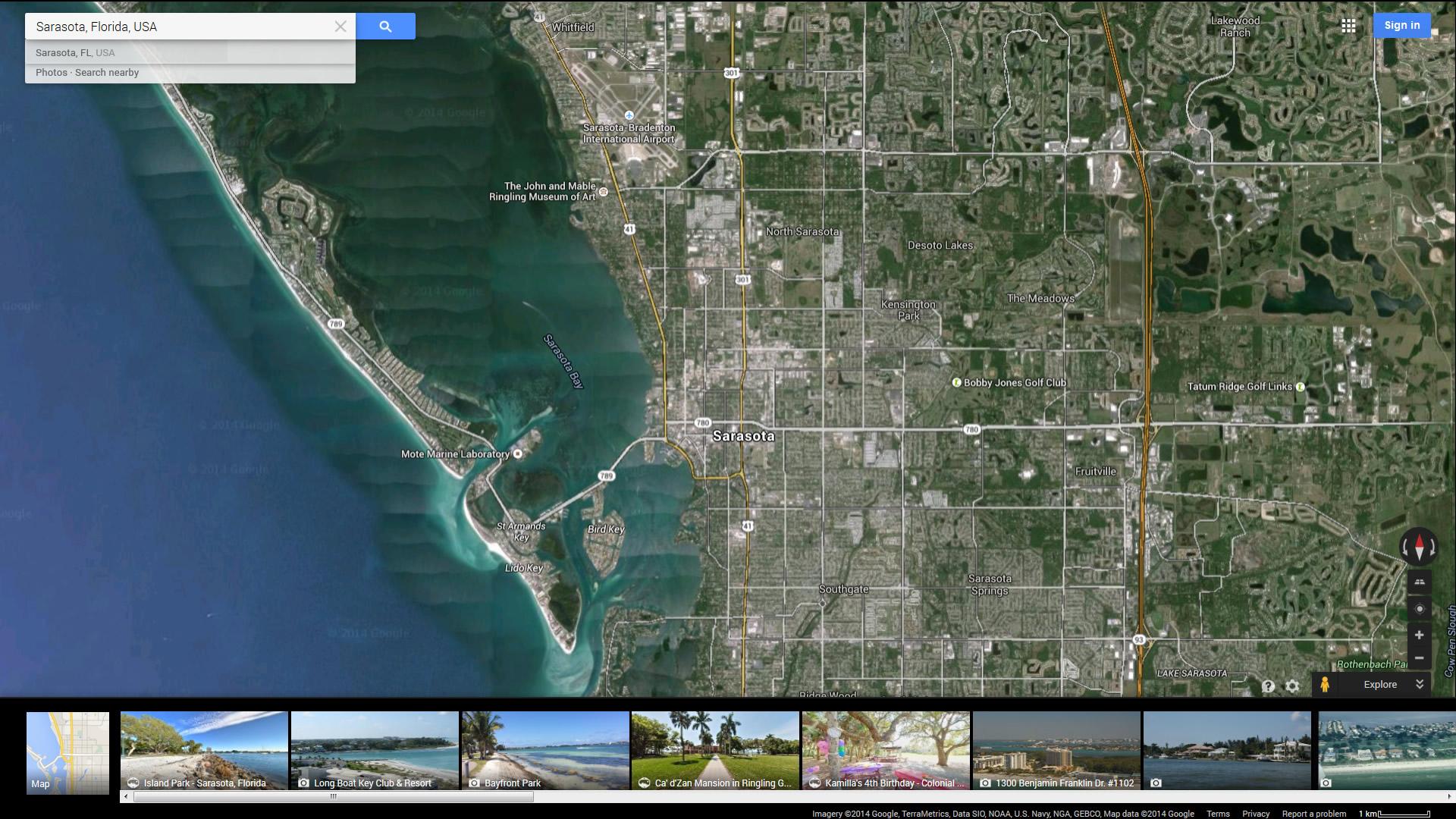 Sarasota Florida Map on weather sarasota, mapquest maps sarasota, google earth map usa fl, craigslist sarasota, google earth florida,