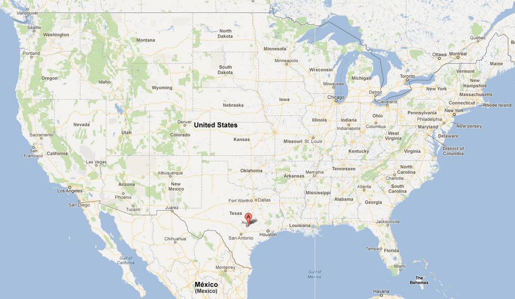 Austin, Texas Map on texas austin, fox news austin, halloween austin,