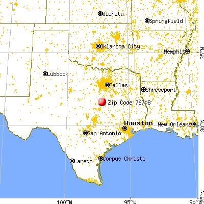 Waco Texas Map