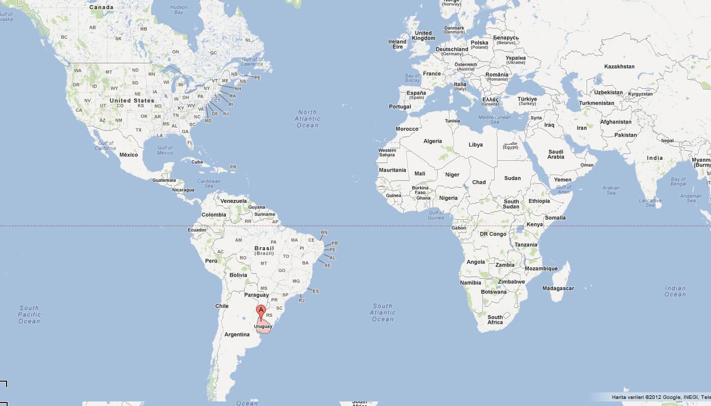 Uruguay Map Atlas - Uruguay map atlas
