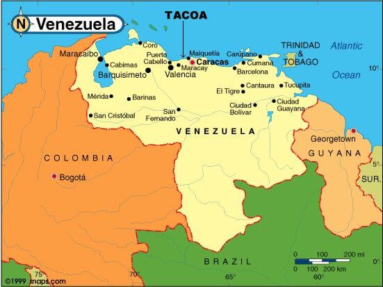 Venezuela Map - Venezuela map